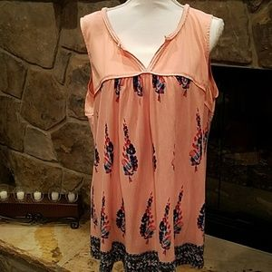 GUC Vintage America Tunic Top in XL